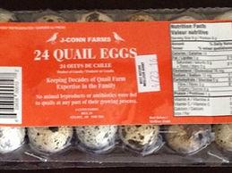 Jconn Farms 24 Fresh Quail Eggs