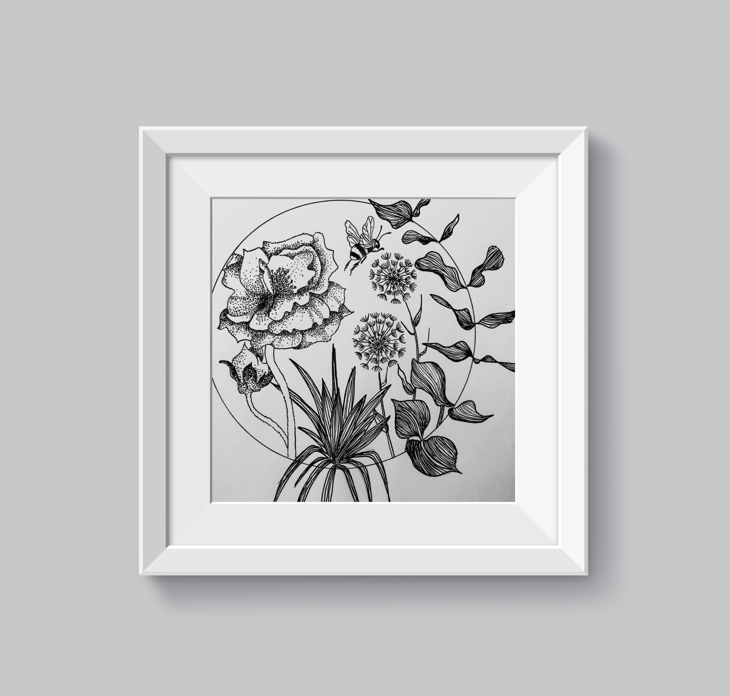 mockup floral
