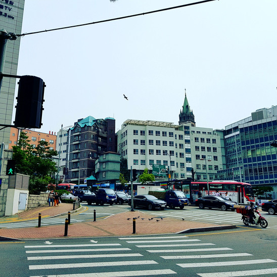 We are in Myeongdong