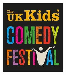 32530 UK Kids Comedy Festival logo conce