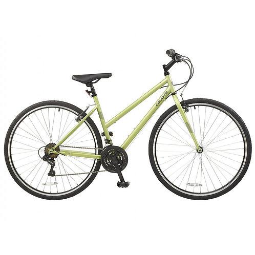 "Coyote Prima 700c Wheel 18 Speed Ladies Urban City Bike 20"""
