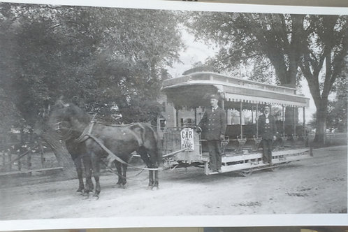 Placemat:  Trolley Car