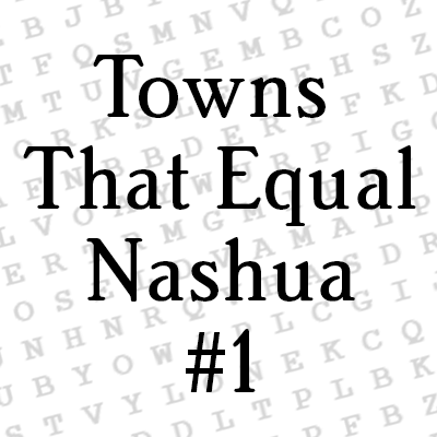 Towns that Equal #1