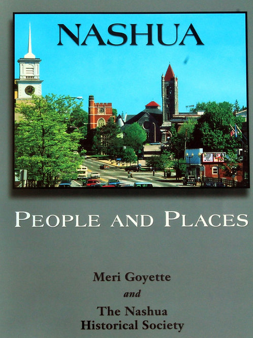 Book:  Nashua People and Places