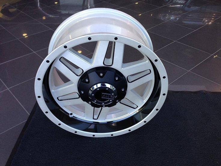 LPV RG Colorado Alloy Wheel - White