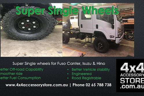 Super Single Wheels