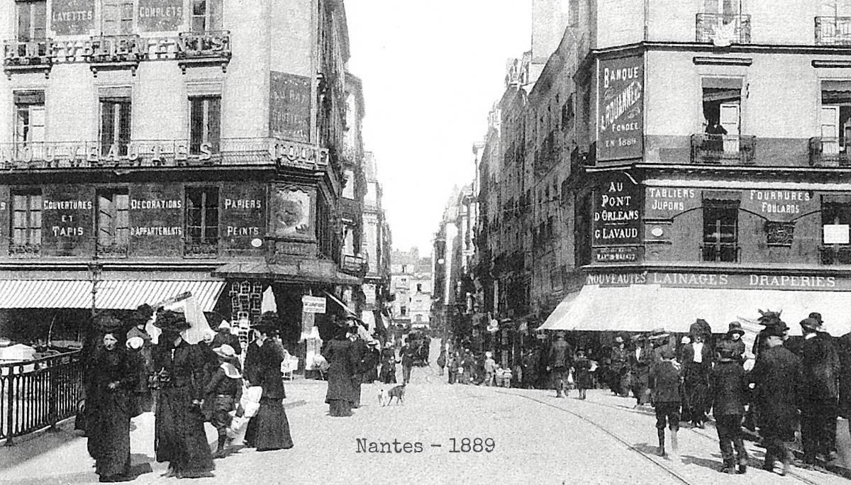 Parcourir Nantes de façon insolite
