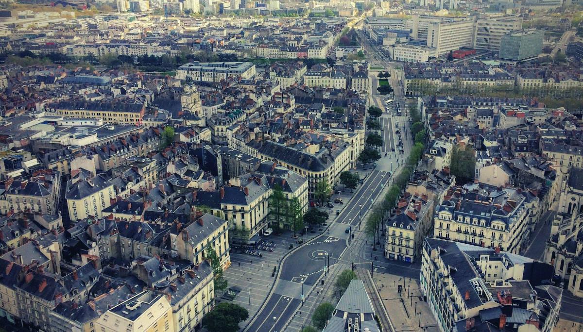 Balade insolite à Nantes panorama de la ville