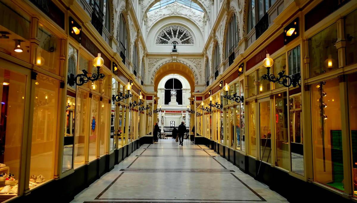 Découvrir Nantes de façon ludique au passage Pommeraye