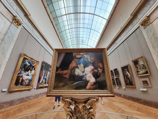 Jeu de piste au Louvre en famille