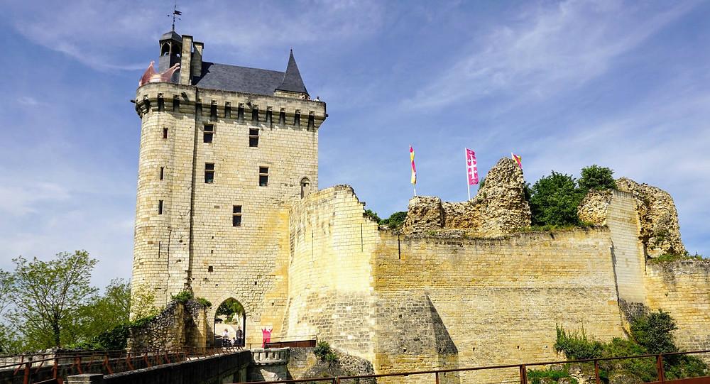 forteresse royale de Chinon - Foxie