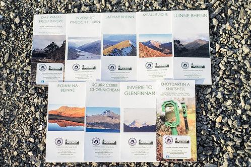Knoydart Ranger Walks Leaflets