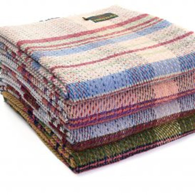 'Random Wool' Throw