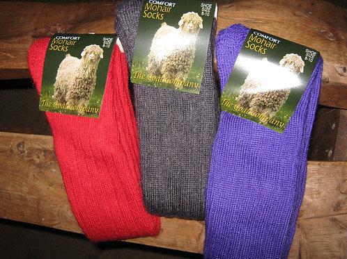 Comfort-knit Mohair Socks - Short