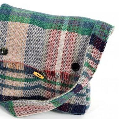 'Random Wool' Woven Bag