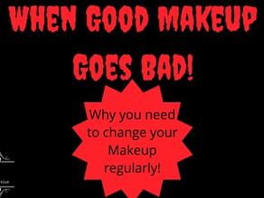 When good makeup goes bad!