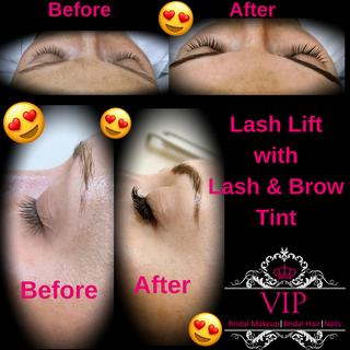VIP Bridal Makeup Artist - Lash Services