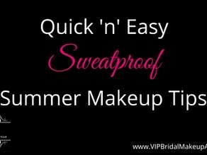 Quick 'n' Easy Sweatproof Summer Makeup Tips