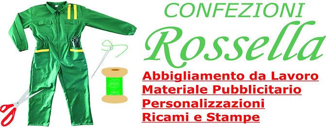 Confezioni Rossella abiti da lavoro ricami stampe personalizzati