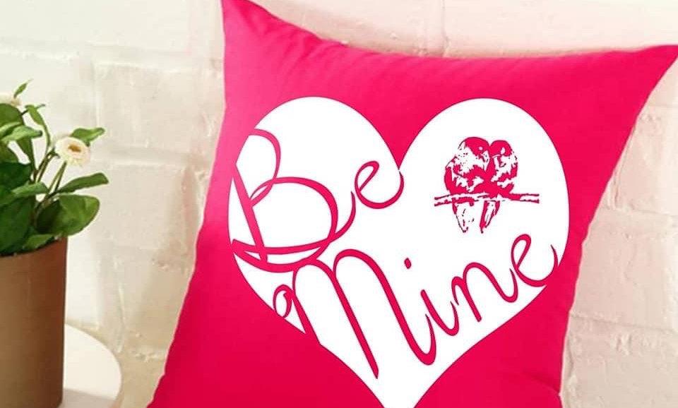 Be Mine White Overlay