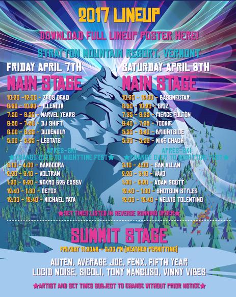 Minus Zero Festival 2017 Preview
