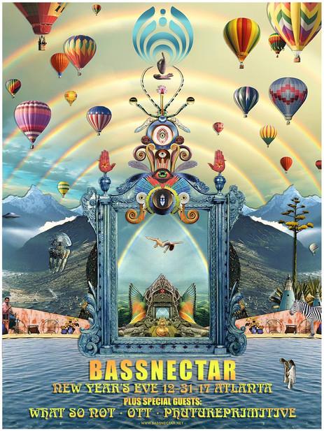 Bassnectar NYE 2017 Review