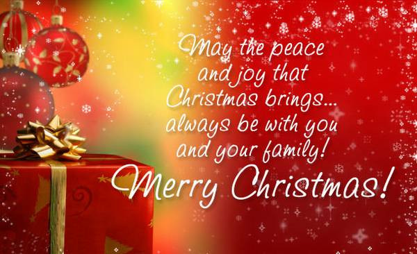 Merry Christmas from State Insurance LLC