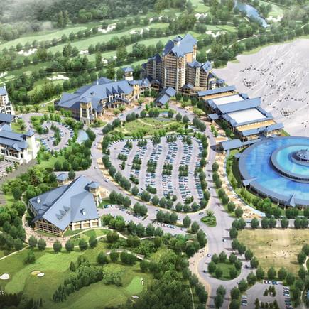 베이징 위양 골프 및 스키리조트 조경설계
