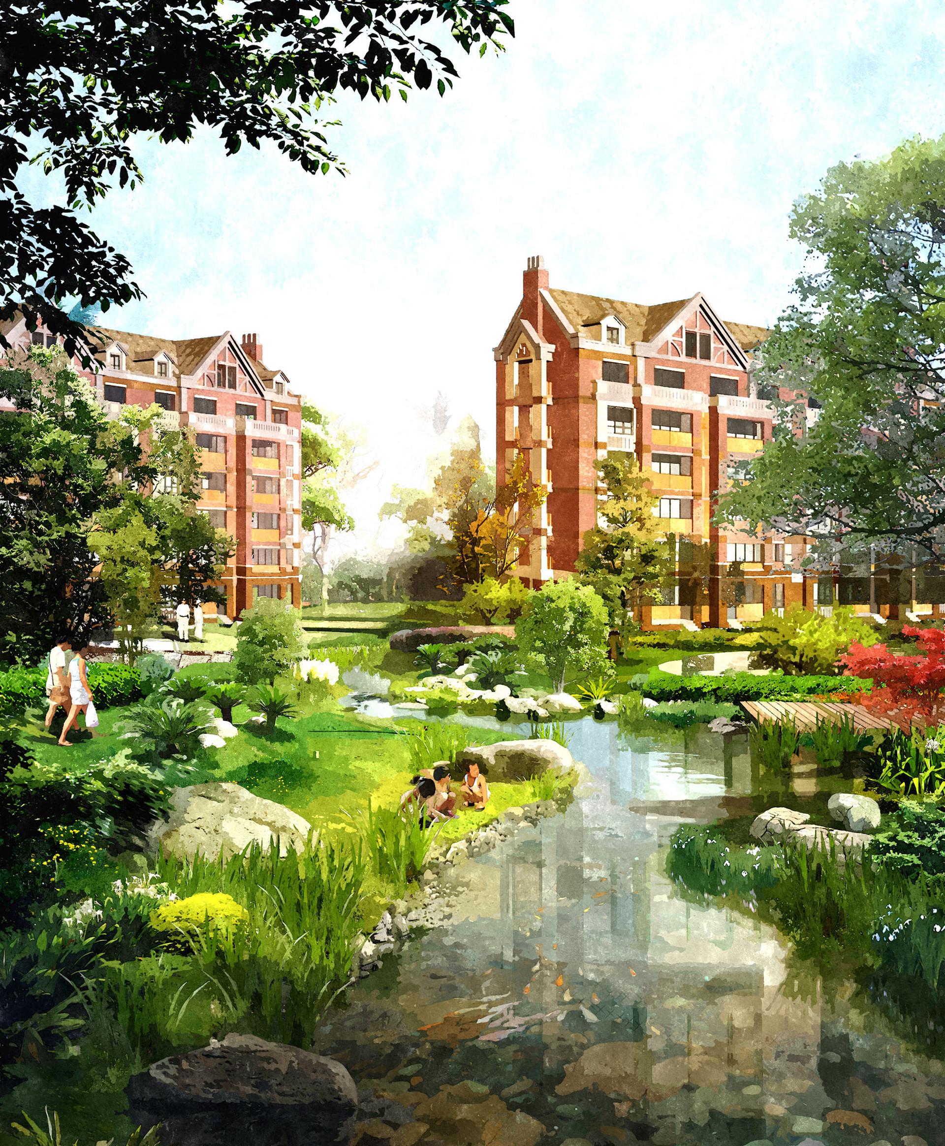 랴오닝성 푸신 녹지 주거단지 계획1.jpg