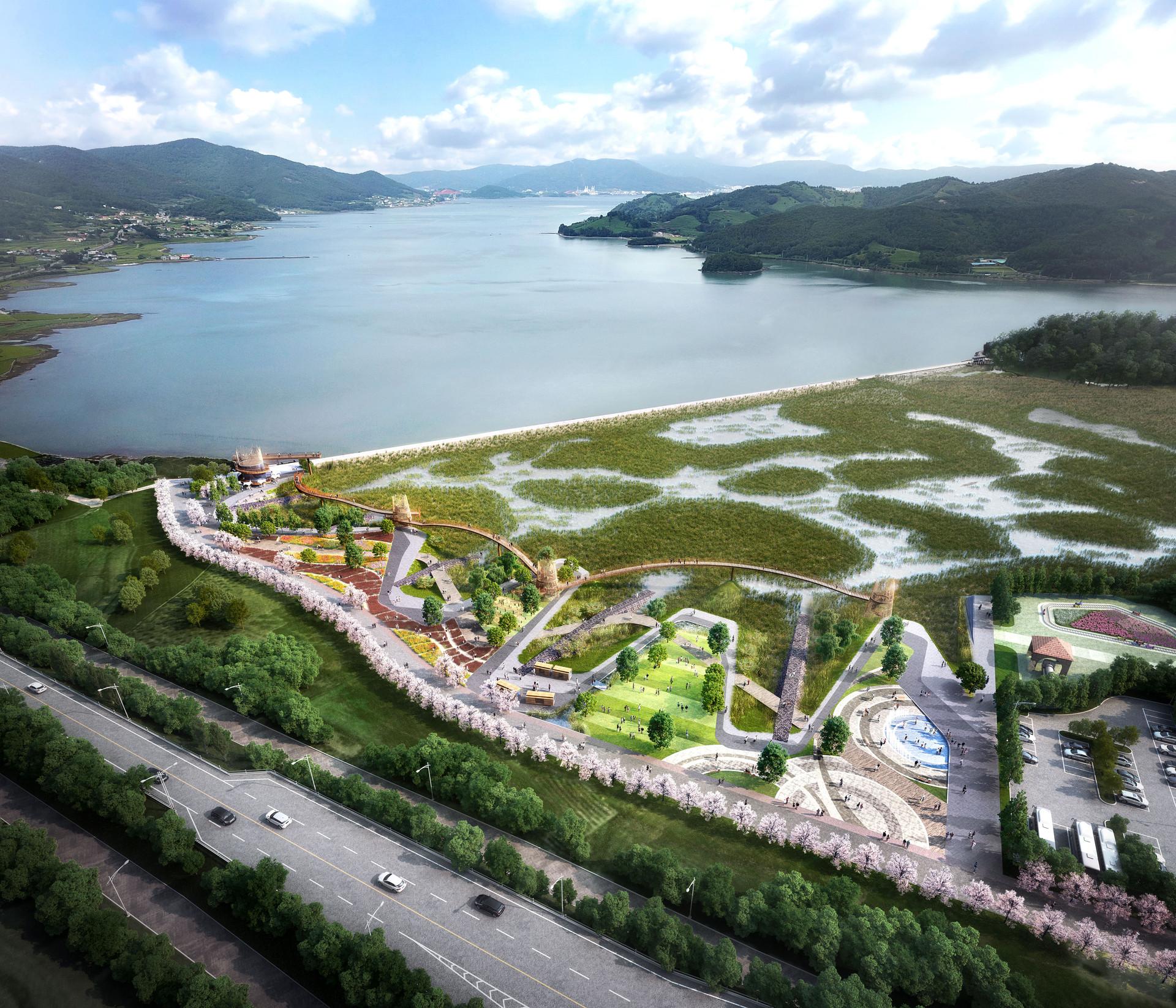 남해군 동대만 생태공원 조성사업 1.jpg