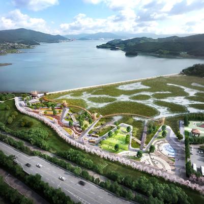 남해군 동대만 생태공원 조성사업