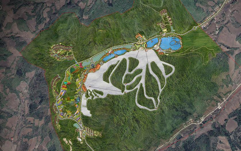 장춘연화산 스키 리조트 조경설계 1.jpg