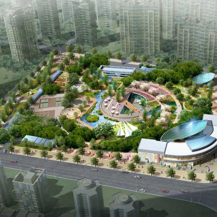 중국 취안저우 테스코 상부 공원화