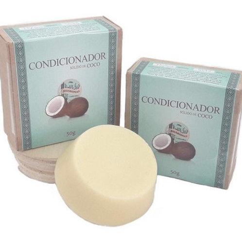 Condicionador Sólido de Coco BIOAROMAS 50g