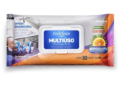 Lenços umedecidos FELLCLEAN MULTIÚSO 30 unidades