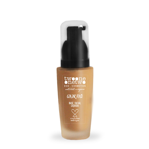 Base Facial COLOR FIX Twoone Onetwo cor 03 (Sand Beije) 40g