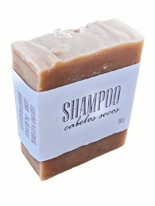 Shampoo em barra para cabelos secos 90g