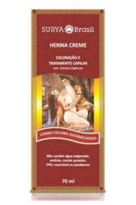 Henna Cremo SURYA LOURO ESCORO AVERVELHADO 70ml