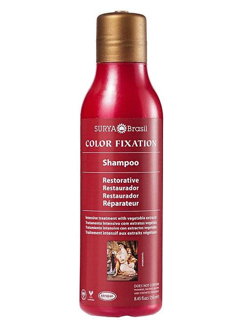 Shampoo restaurador Color Fixation SURYA 250ml