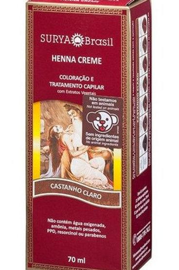 Henna Creme SURYA CASTANHO CLARO 70ml