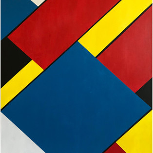 Overlaps-Acrylic on Canvas 24x36