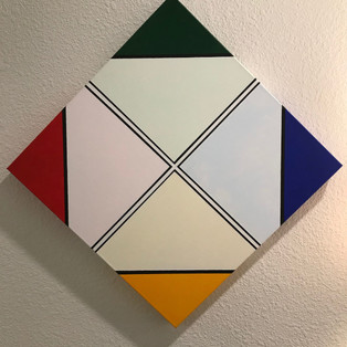 Infinite Corners-Acrylic on Canvas 20x20