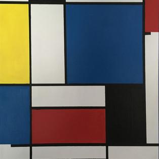 Heart Of Blue- Acrylic on Canvas 18x24
