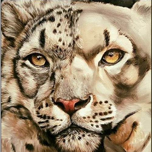 Snow Leopard Oil Painting Workshop by Suzanne Moseley