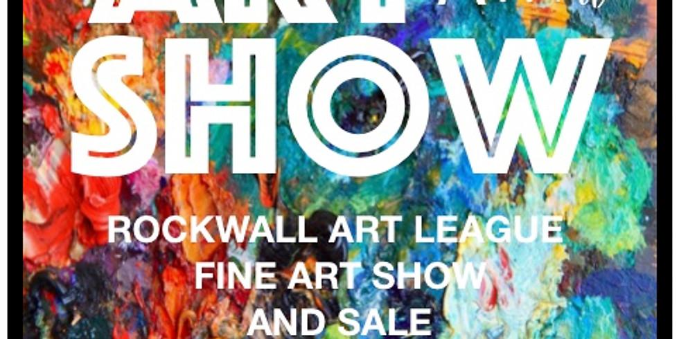 18th Annual Rockwall Art League Fine Art Show