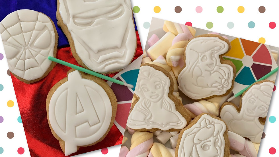 Paint your own Biscuit