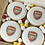 Thumbnail: Football Biscuits