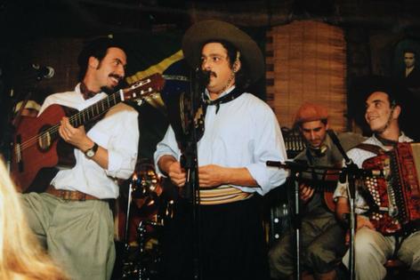 Luiz Marenco no Paiol