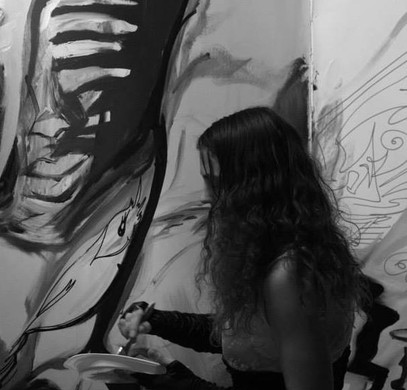 LIVE PAINT PERFORMANCE by NADIA