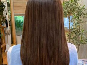 梅雨前の髪質改善